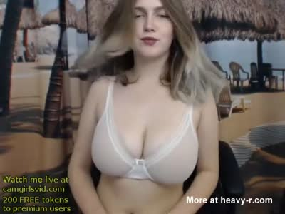 Pretty Teen Babe With Massive Tits