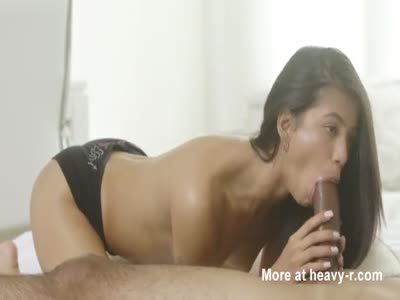 Lovely Skinny Teen Latina Loves A Big Cock