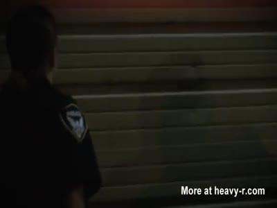 Milf cops suck off criminals cock