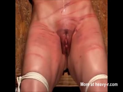 image Heavy pierced slave with lots of rings in her pussy