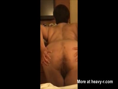 Showing Off Her Milf Ass in Hotel