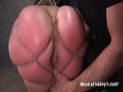 Anal For Babe With Ass In Bondage