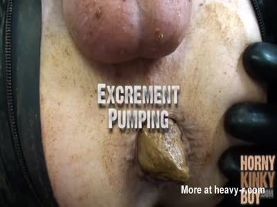 Excrement Pumping
