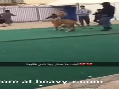 Little Girl Attacked By Tiger