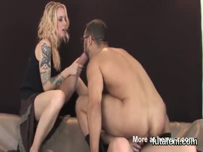 Chicks drill lovers ass hole with enormous strap-ons and eja