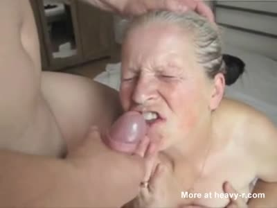 Big dildo playing with herself