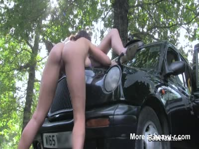 Lesbian Pussy Eating On Hood