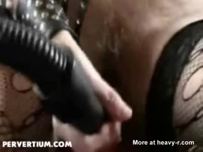 Mature Toying Vacuum Cleaner