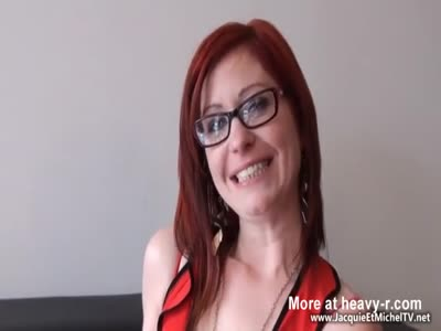 DP Gangbang With Redhead Teacher
