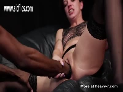 Interracial Fist Fucking With Squirting Orgasm
