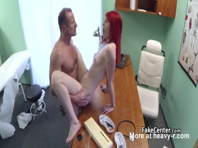 Doctor Banging Redhead