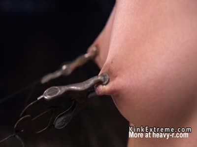 Hairy Sub Gets Nipples Tormented In Bondage