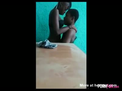 Nigerian Schoolgirl And Boy Have Sex At School