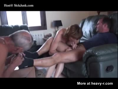 Wife And Husband Raping Grandpa