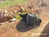 Syria - Rebels Execute Alawite Man