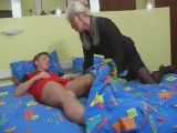Hot Milf Fucks Young Stud