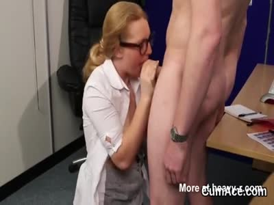 Teacher Gets Massive Load On Her Face