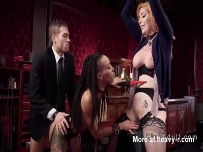 Threesome BDSM Ass Fuck