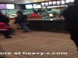 McDonald's Employee Smashing Up The Place