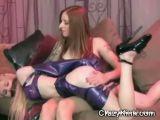 Lesbian Latex Slaves