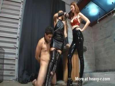 Two Femdom Ladies Humilate A Sissy