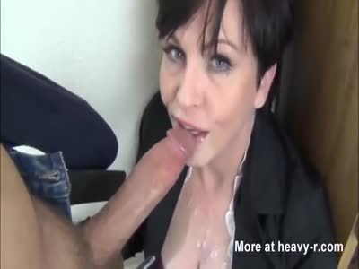 School Teacher Gets Oral Creampie