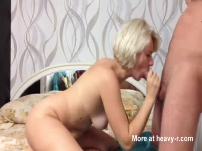 Cum In Mouth For Russian Mom
