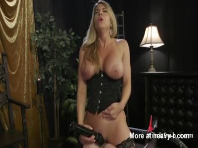 Busty Lesbians In Anal Play