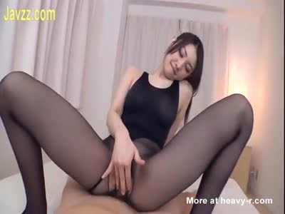 Asian Wife fucked In Pantyhose