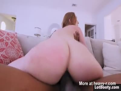 Big ass MILF PAWG gets interracial anal fucking