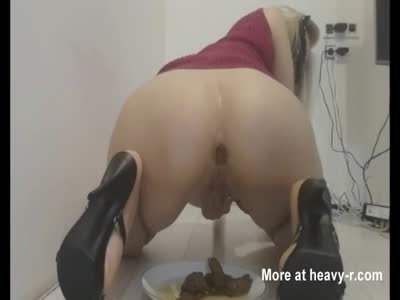Blonde Hot Slut Shit and Piss.