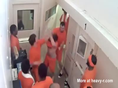Video Of Terrorist Carlos Larmond Beaten Up In Jail