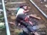Man Hit By Train