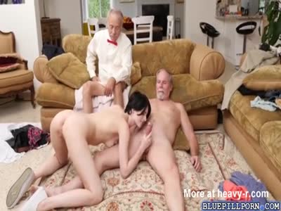 Old Pervs Sexually Use Young Girl