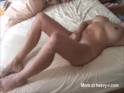 Milf Masturbating In Front Of Her Lover