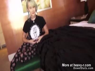 Huge natural tits blonde fucking