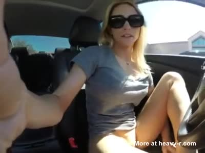 Squirting In Car
