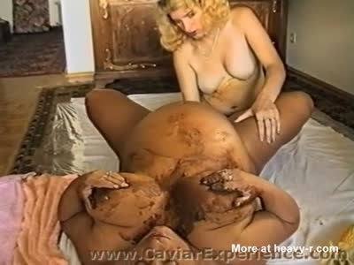 BBW Granny and MILF Have Scat Sex
