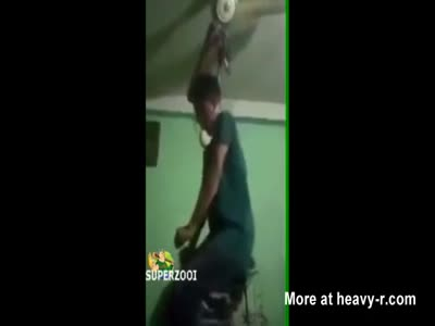 Live Streamed Hanging