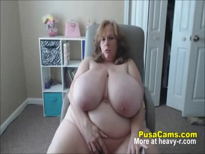 Granny With The Biggest Natural Tits in The World