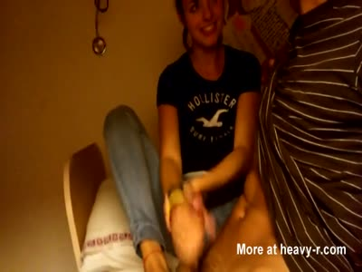 Quick Teen Handjob