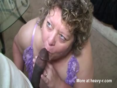 BBW Mature Blowjob