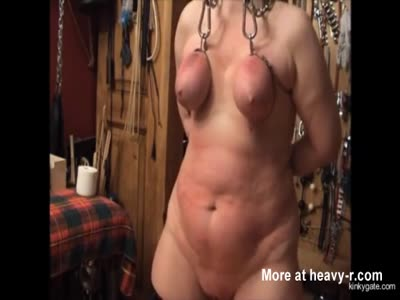 Flogging Mature In Amateur BDSM