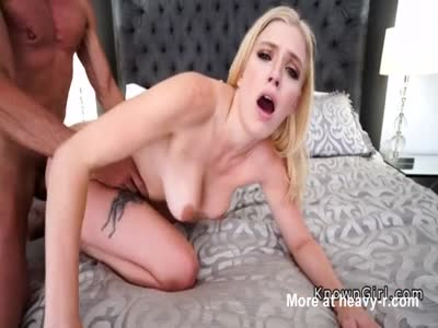 Blonde Camgirl Enjoys Big Dick