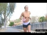 Topless Jogging In Public