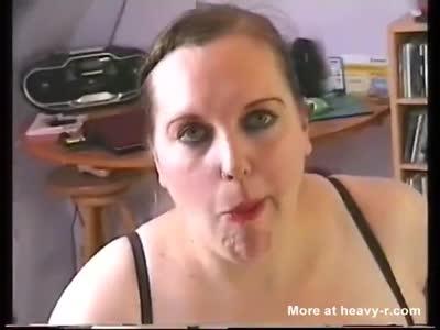 Heavy cum tube