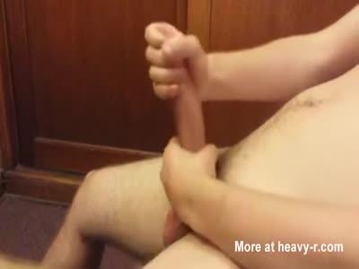 huge cumshot from danich cock