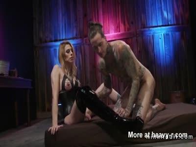 Tranny anal fucks alt male slave