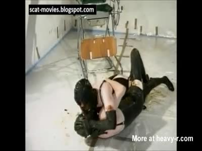 Latex Couple In Scat Sex