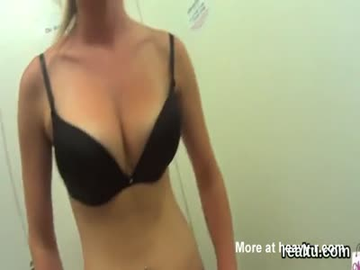 Blowjob In Fitting Room